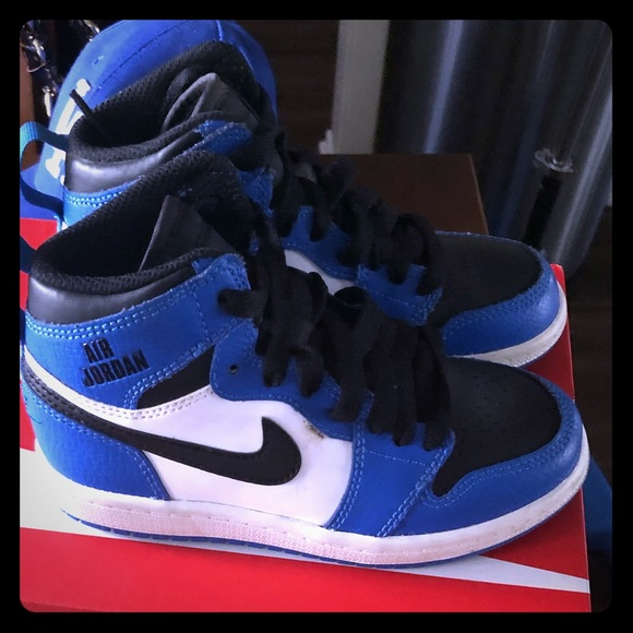 Jordan Shoes   Boys Kids Jordan Blue